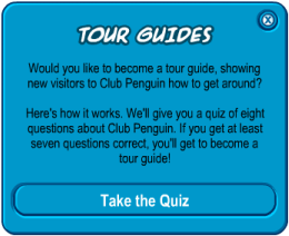 Cheats For Club Penguin Tour Guide Test