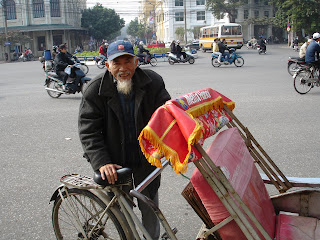 I gave an old timer the rickshaw workout of his life...