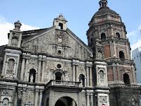 Binondo Church. Note the bell tower.