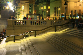 Steps leading to The National Gallery