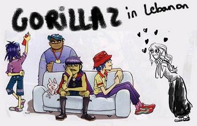 Gorillaz in Lebanon, mira