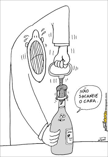 O Humor das Coisas (rolha, balanço e amarelinha) #cartuns