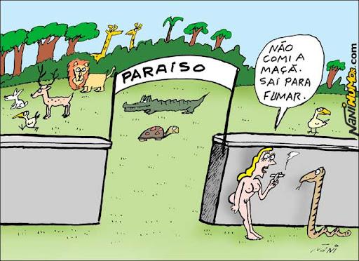 Eva sai do Paraíso