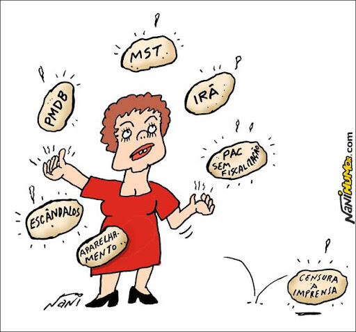As batatas quentes de Dilma