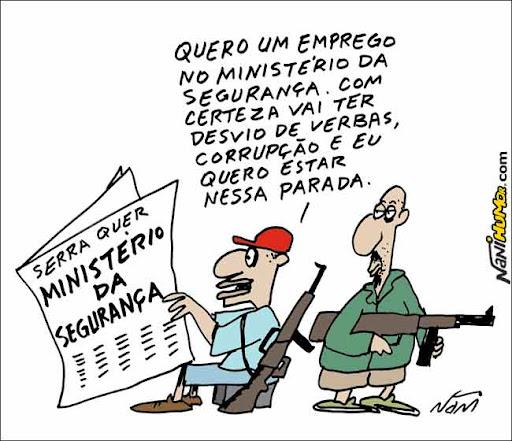 Serra quer Ministério da Segurança