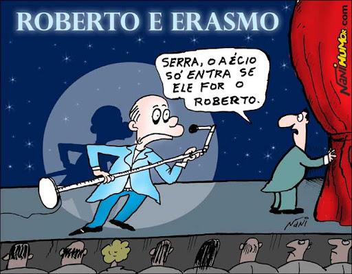 Roberto e Erasmo