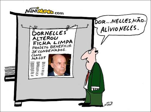 Dornelles alterou Ficha Limpa