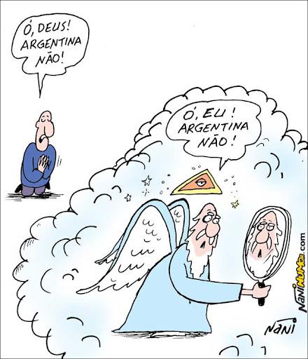 Nani na Copa. Argentina e Deus