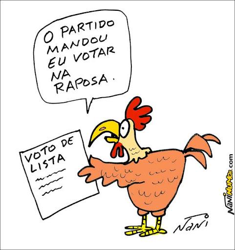 Na presidência, Dilma vai implantar o voto de lista