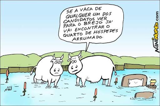 Eleições 2010. Candidatos no brejo