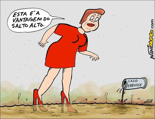 Dilma e A vantagem do salto alto