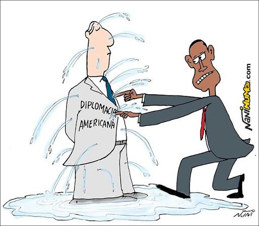 Obama e os vazamentos na diplomacia americana
