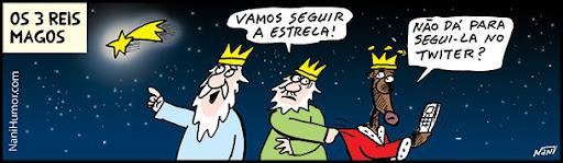 Os 3 Reis Magos. twitter