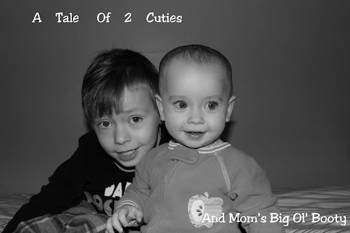 A Tale of 2 Cuties and Mom's Big Ol' Booty