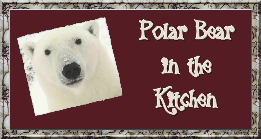 Polar Bear in the Kitchen