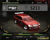Выкладываю свою новую эксклюзивную модель автомобиля Mercedes S211 для игры