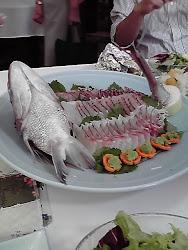 Sea Breem Sashimi
