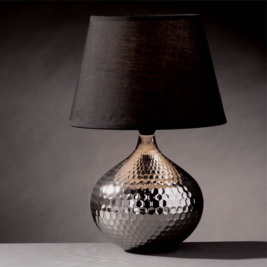 simply stoked my newest obsession hammered metal lamps. Black Bedroom Furniture Sets. Home Design Ideas