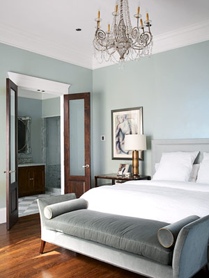 Simply stoked color crush blue gray Master bedroom light blue walls