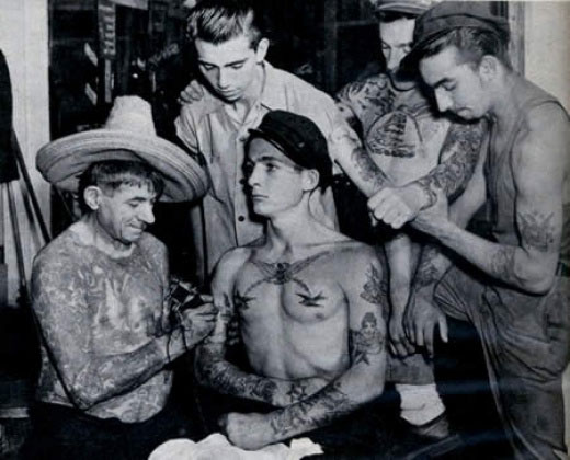 Vintage Tattoo Photos from the Web