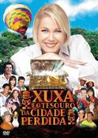 Capa do Filme Xuxa e o Tesouro da Cidade Perdida