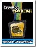 """Prêmio """"Esse blog vale Ouro!"""""""