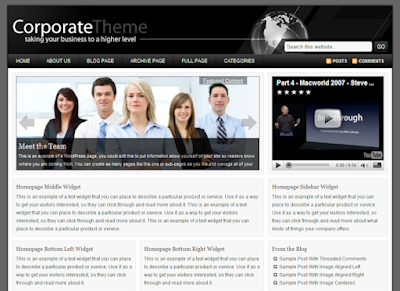 Image for Studiopress Corporate Theme