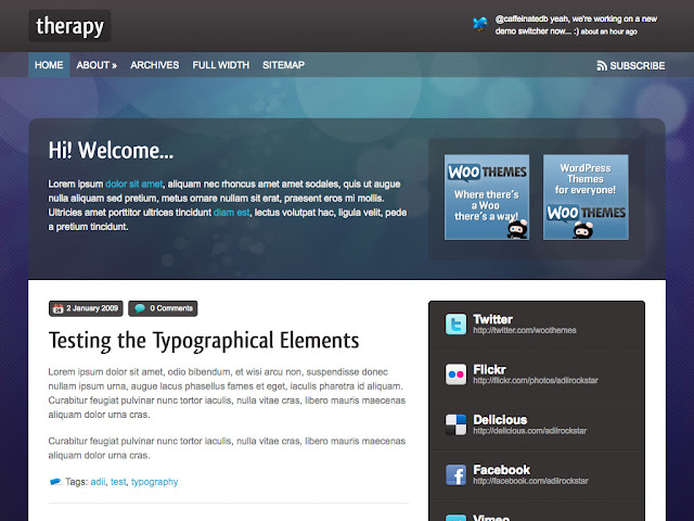 Therapy Wordpress Theme Free Download.