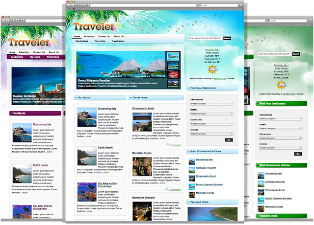 Traveler 4.0 WordPress Theme by Gorillathemes Free Download.