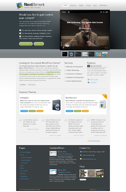 NextElement Wordpress Theme Free Download by Themeforest.