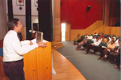 Dr. Islam, CEO, Development Gateway giving keynote address
