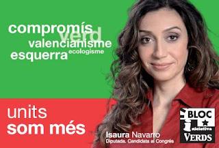 Isaura Navarro, l'endemà de la vespra