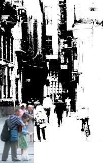 Perales en català al carrer de les Cistelles
