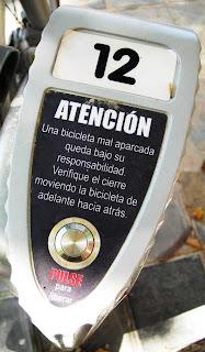 Valencià en bici, no