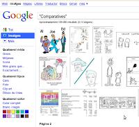 Comparatives, segons Google