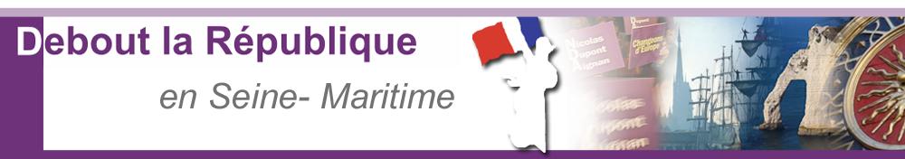 Debout la République  -  HAUTE NORMANDIE - 76-- - 27.