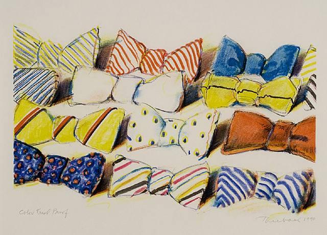 Wayne Thiebaud Famous Paintings