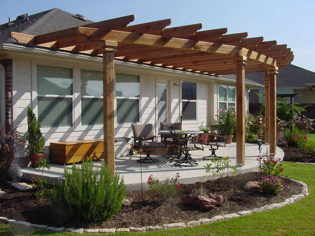 patio ideas for small regions