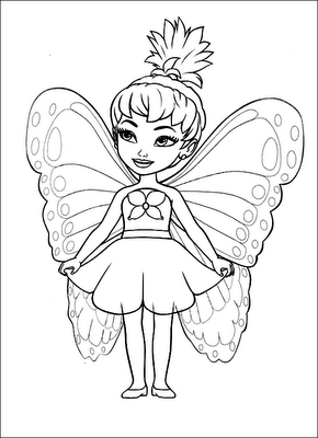 Sarah39s Super Colouring Pages Fairy