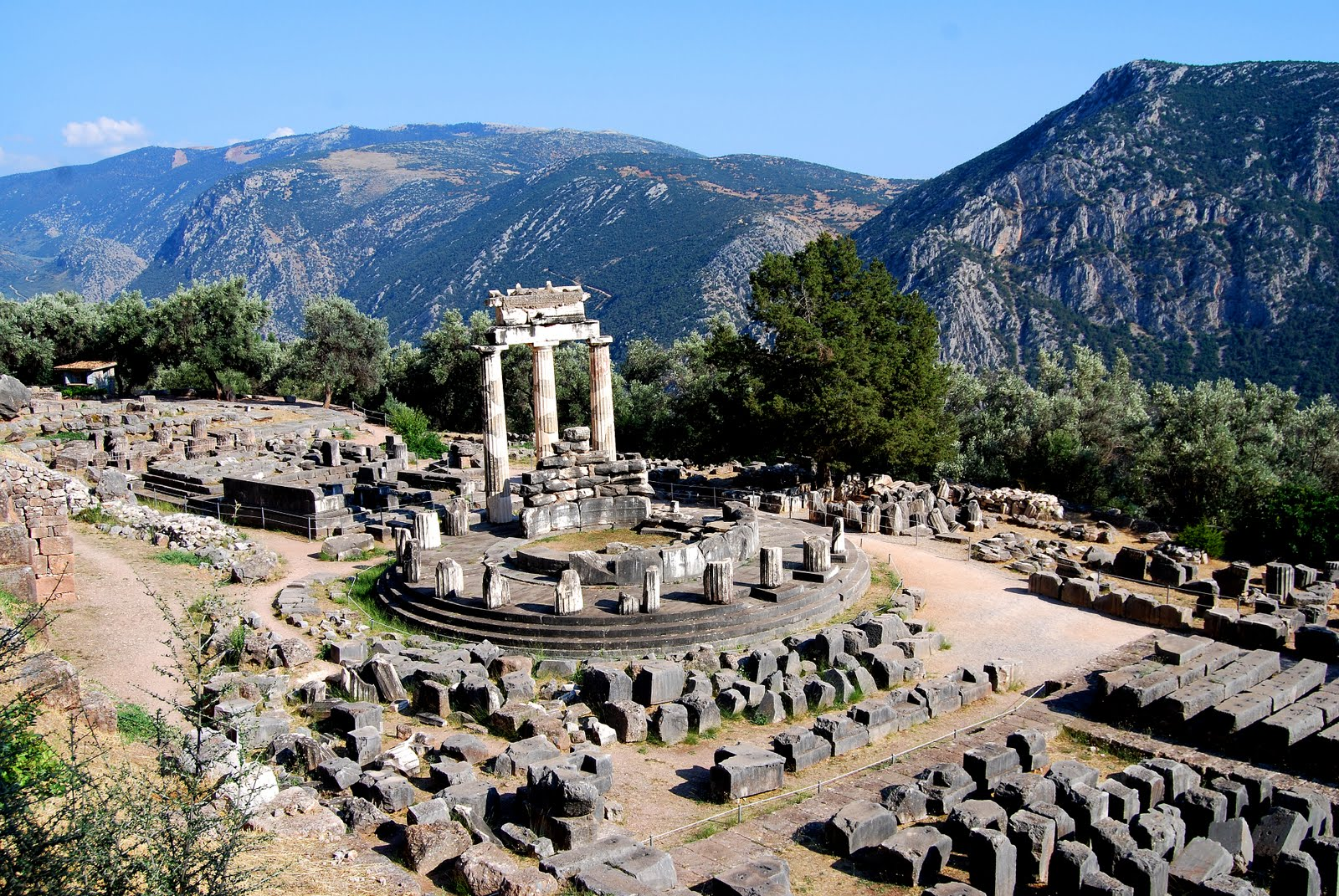 Delphi Greece  city pictures gallery : MuseumChick: My Oracle Prediction You Will Love Delphi Greece