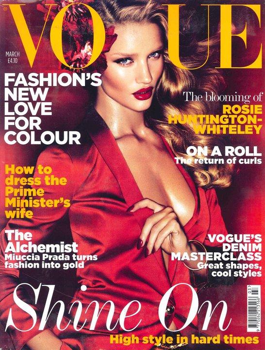rosie huntington whiteley vogue cover. Rosie Huntington-Whiteley