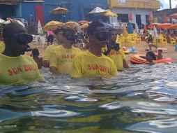 Aprenda a mergulhar em apnéia com 5 aulas