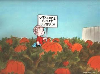 He'll come here because I have the most sincere pumpkin patch and he respects sincerity.