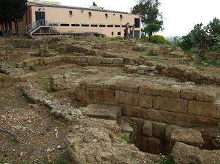 Bild 4: Nordseite Archäologisches Museum Agrigent