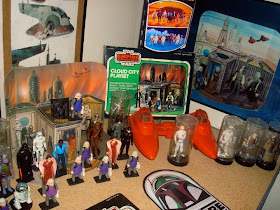 Star Wars 1980 Cloud City playset reproduction