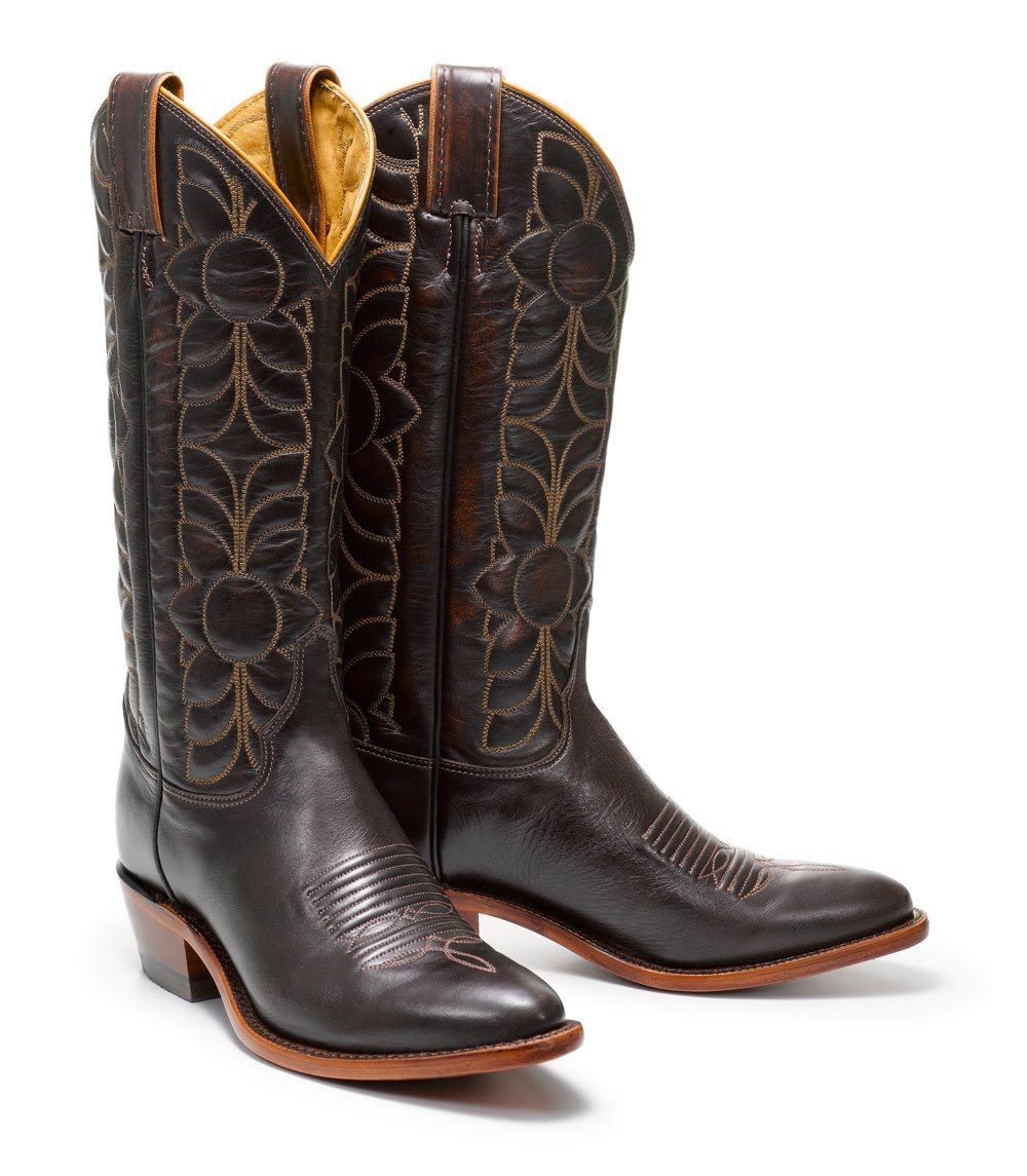 Fashion Herald: Fossil   Justin Cowboy Boot