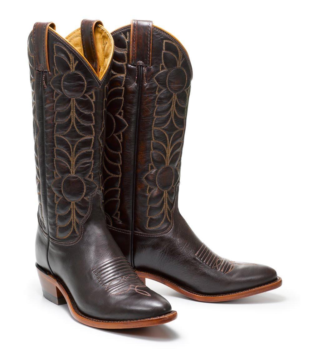 fashion herald fossil justin cowboy boot