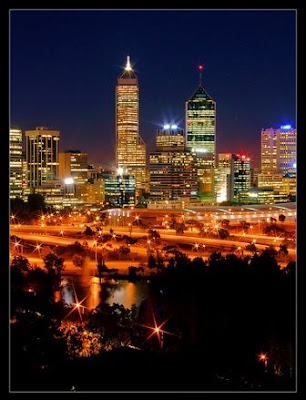 City of lights-Perth