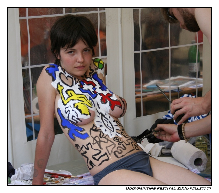 Keith Haring Spray Paint