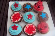 Cupcakes con amor.